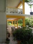 View to main veranda and balcony